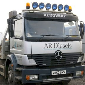 AR Diesels Recovery Vehicle